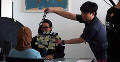 Behind the scenes #HRDFshoot