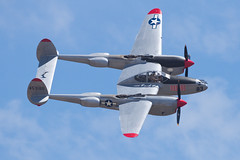 Collings Foundation Lockheed P-38L Lightning N505MH (jbp274) Tags: cno kcno airport airplanes airshow display restored vintage warbird lockheed p38 collingsfoundation