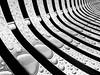 (Marc McDermott) Tags: rain bench water pattern blackandwhite drops samsung s7 abstract
