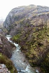 Glen Coe, Scotland. (Chanel Debono) Tags: glencoe glen scottishhighlands scotland waterfall river fog winter waterfalls