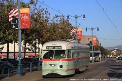 SFMTA 1073 (Davuz95) Tags: pcc trolley street car cars streetcars muni san francisco line f e mexico el pasp paso