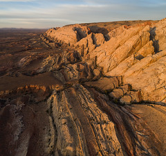The Reef (Summit42) Tags: utah dji phantom pro phantom4 4 desert sunrise sanrafael swell reef drone pano