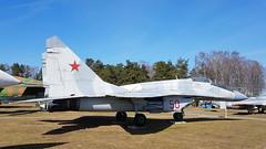 Mikoyan-Gurevich Mig.29 Belarus Air Force code 50 red (sirgunho) Tags: belarus minsk museum aviation technology музей авиационной техники preserved mikoyangurevich mig29 air force code 50 red