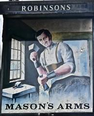 Masons Arms - Southport, Merseyside. (garstonian11) Tags: pubs pubsigns merseyside robinsons southport