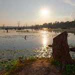 Sunset at Neak Pean Lake thumbnail