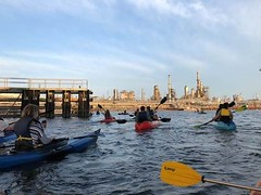 Philadelphia Oil Refinery Kayak Tour