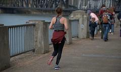 Riverside Run (Scott 97006) Tags: run exercise people runner riverside jog