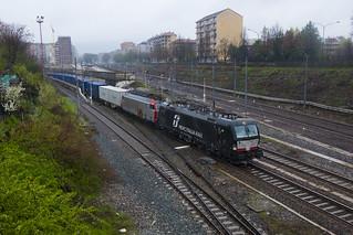 E193.649 + E652.128 MERCITALIA RAIL - Torino San Paolo