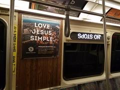 4-16-2018: Orange Line signage. Boston, MA