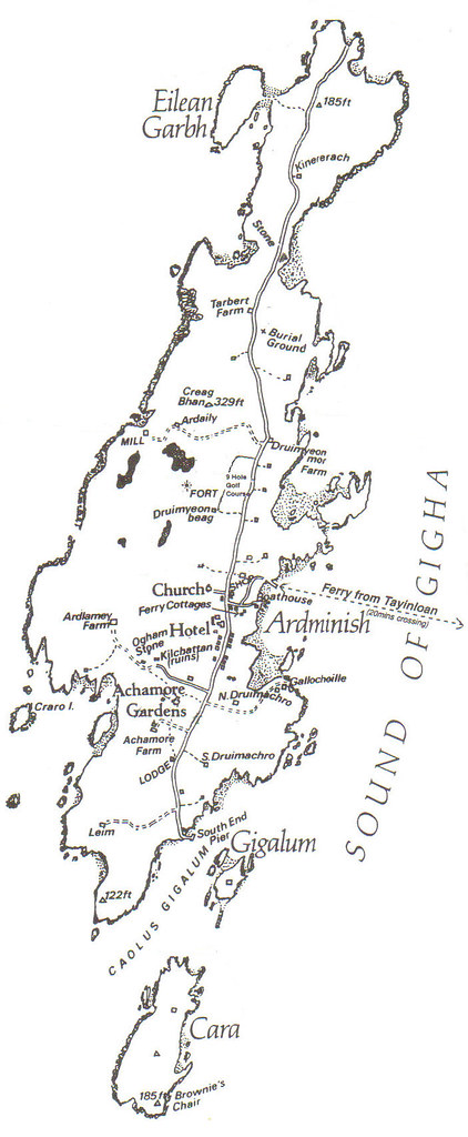 Gigha Map