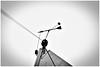 One armed... (LeonardoDaQuirm) Tags: sailing yacht detail windex verklicker mast top