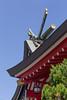 Shinto Shrine Detail (ColinParte) Tags: shinto shrine koya akagi roofwork roof traditional japan japanese temple matsudo shimmatsudo religion