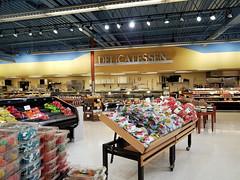 Delicatessen (Nicholas Eckhart) Tags: america us usa 2018 marion indiana in retail stores needlers fresh market former reuse marsh supermarket groceries interior