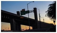 Sunset on the trail (photo.po) Tags: canonrebelt6 canon evening nightphotography availablelight sunset freeway highway chisholmtrail texas fortworth dfw