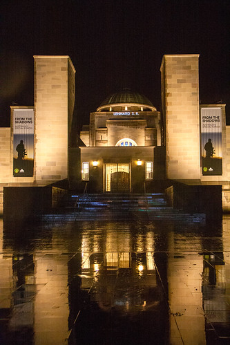 S Lennard Apr 14 War Memorial Projection