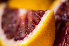 DSC03288 (zorbcano) Tags: bloodorange citrus organic fruit bokeh texture