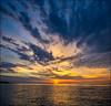 Drama Of The Dawn (Rodrick Dale) Tags: dawn lake ontario cloud sky water sunrise