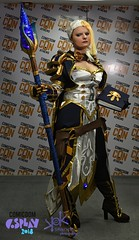 Comicdom Con Athens 2018: Prejudging - by SpirosK photography: Jaina (SpirosK photography) Tags: cosplay cosplaycontest costumeplay prejudging photoshoot portrait spiroskphotography jaina blizzard worldofwarcraft wow game videogame videogamecharacter mage wizard comicdomconathens2018 comicdomcon2018 comicdomconathens comicdom2018