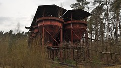 D - Sandabfüllanlage (BonsaiTruck) Tags: abfüllanlage sandtrichter lost place places sandabfüllanlage natur industrieruine ruine stillgelegt nature