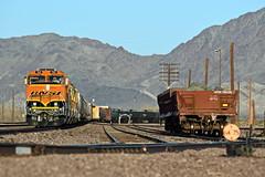 BNSF L-CAL1161-08F (caltrain927) Tags: bnsf railway burlington northern santa fe mixed freight manifest local emd gp60m gp60 cadiz california ca