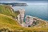 étretat (heavenuphere) Tags: étretat lehavre seinemaritime normandie normandy france europe landscape pebble beach chalk cliffs natural arch englishchannel english channel lamanche view sea water 24105mm