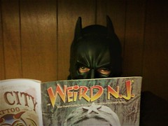Tag Game: A Blast From The Past: Quiet Time In The Batcave (Toyz in the attic) Tags: me batman batcave mask 2011 weirdnj selfportrait selfie taggame blastfromthepast