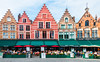 Market Place in Bruges... (keriarpi) Tags: fairytale town bruges brugge belgium travel traveling travelling holiday unesco cityscape city pano panorama world heritage water building sky river architecture house trip window wall road boat tower