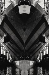 Container Ship (MRRW) (FloHimself) Tags: olympusxa2 trix400 hc110 hamburg mrrw