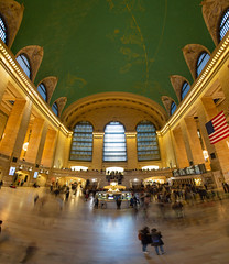 Inside Grand Central Station (Photos By RM) Tags: grandcentralstation grandcentralterminal station terminal newyorkcity manhattan nyc newyork train lobby mainconcourse grand central architecture panorama