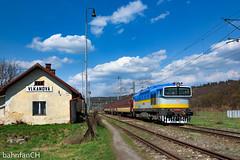 Blue Beauty (bahnfanCH) Tags: zssk slovakia slowakei os regionalzug lokbespannt diesel dieselparadies diesellok 750 rh rh750 taucherbrille bahnhof stanica 750183 brejlovec