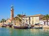 Le Grau du Roi (Xtian du Gard) Tags: xtiandugard grauduroi gard phare bateaux boats landscape waterscape painting digiart