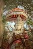 Balinese Hindu Temple Complex, Menjangan Island, Bali (scinta1) Tags: bali hindu menjangan island tedung shrine deity ornate