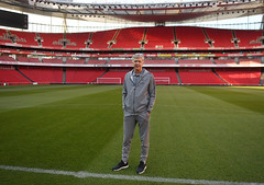 Arsene Wenger Visits The Emirates Stadium Ahead of His Last Home Match (Stuart MacFarlane) Tags: sport soccer clubsoccer london england unitedkingdom gbr