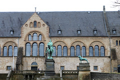 Kaiserpfalz, Goslar - Germany (Rick & Bart) Tags: goslar germany deutschland niedersachsen city urban rickvink rickbart canon eos70d historic architecture unescoworldheritagesite kaiserpfalz palace