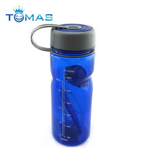 Plastic water bottle custom drinking water bottle logos