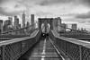 Brooklyn Bridge (stan.rude) Tags: canon5dmarkiii canon sigma sigma2870mmf28ex newyorkcity brooklynbridge 2018 april blackandwhite digitalphotograph availablelight architecture cityscape streetphotography