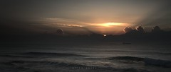 breaking dawn (..and a swan in the clouds) (Elton Pelser) Tags: ocean seascape sunrise sea morning dawn sun outdoors water sky shipsatsea horizon cinemascope