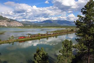 Canal Flats coal train