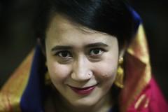 NABEELA (N A Y E E M) Tags: nabeela cousin portrait lastnight availablelight indoors rabiarahmanlane chittagong bangladesh