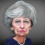 Theresa May - Caricature thumbnail