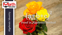 a+b+c whole square formula (Math Doubts) Tags: algebra algebraicidentity squareofabc