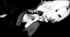over exposed (khaosrepublic) Tags: blackwhite bentohead pinhole dark laq khaos glam lashes fading darkness eyeliner cateye portrait shadow aluring republic stylish tram piercing cleavage white