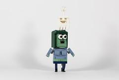 Muscle Man (joffre0714) Tags: lego moc regular show mordecai rigby benson skips muscle man hi five ghost pops