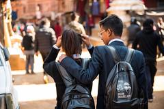 Young love (rfabregat) Tags: nepal nepalese asia travel travelphotography bhaktapur kathmandu patan kathmanduvalley nikon nikond750 d750