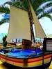 Madeira, Portugal. Funchal, The Cliff Bay Hotel (dimaruss34) Tags: newyork brooklyn dmitriyfomenko image sky clouds portugal madeira svetlanafomenko funchal hotel thecliffhotel boat sail palmtree
