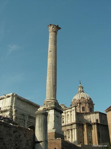 Римський форум, Рим, Італія InterNetri Italy 529