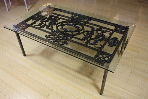 How to Paint Wrought Iron Coffee Table