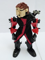 Hawkeye (Age of Ultron outfit) (Cѳpnfl) Tags: hawkeye lego comics moc bionicle ccbs superheroes marvel