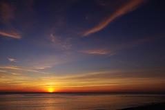 D14131.  Aberystwyth. (Ron Fisher) Tags: cymru wales europe evening aberystwyth ceredigion baeceredigion cardiganbay sunset water sea ocean pentax pentaxkx gb greatbritain uk unitedkingdom