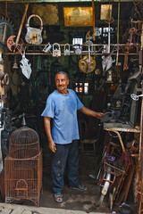 We make locks... And more! (thomas_delora) Tags: berberlock marrakechsouk ted souk africa locksmith morocco marrakesh